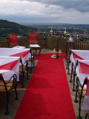 100 4375 303x405 - Astrid und Willi auf der Terrasse des Maltermeister Turm Goslar