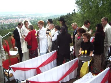 IMGP1340 382x286 - Astrid und Willi auf der Terrasse des Maltermeister Turm Goslar
