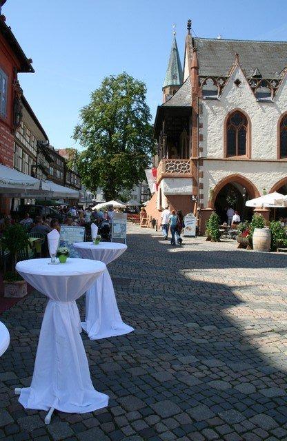 fuhr 040 - Marina & Frank im Garten des St. Annen Hauses Goslar