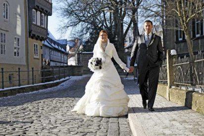 hochzeit hase 0748 412x274 - Eva und Hendrik - Ein Wintermärchen in Goslar