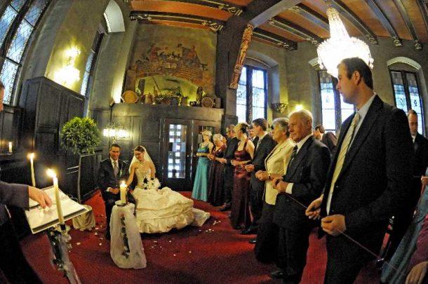 hochzeit hase 0906 610x405 - Eva und Hendrik - Ein Wintermärchen in Goslar