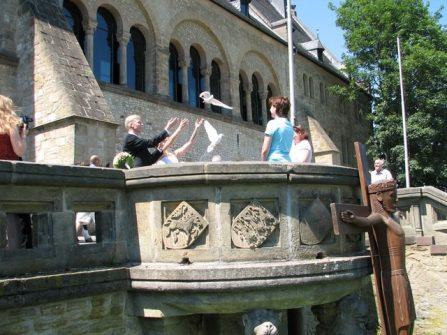welgeII 063 447x335 - Sara und Benjamin in der historischen Kaiserpfalz zu Goslar
