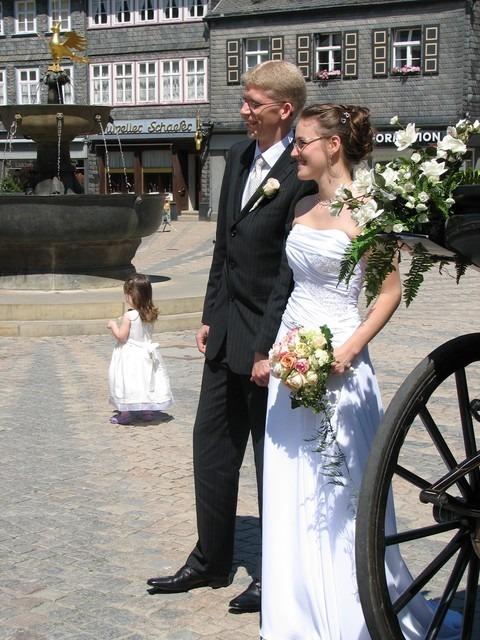 welgeII 141 - Sara und Benjamin in der historischen Kaiserpfalz zu Goslar
