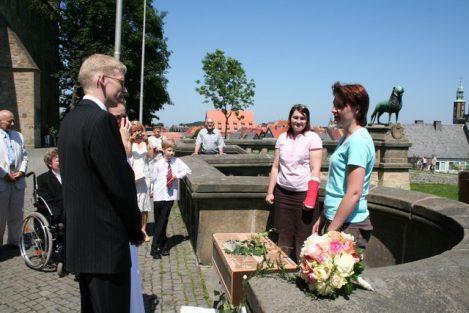 welge 114 469x313 - Sara und Benjamin in der historischen Kaiserpfalz zu Goslar