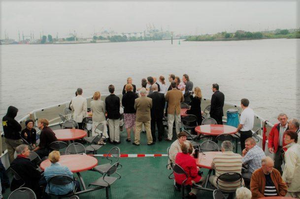 Elke Rott - Die Zeremonie - Freie Trauungen - Hamburg Elbe