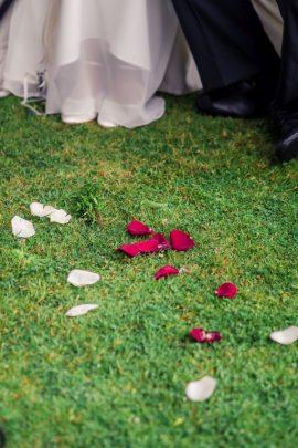 Elke Rott Freie Trauungen Foto Alexander Hahn53 270x405 - Nadja und Sven - Lachen gegen Wetter - im Landhaus am See
