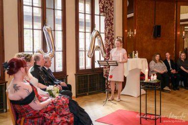 Freie Trauung - Elke Rott Die Zeremonie in Goslar Harz Foto -Thorsten Grannas