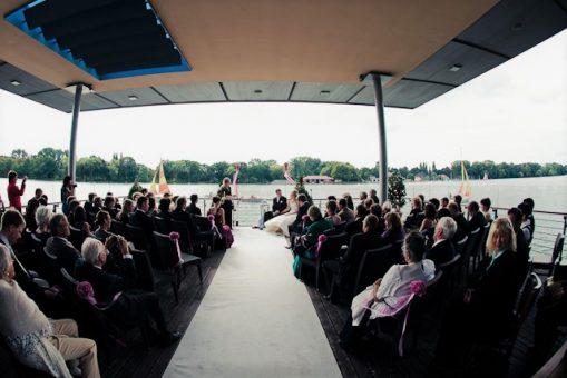 Elke Rott - Die Zeremonie - Freie Trauung - Pier 51 Maschsee Hannover - Foto R. Michels