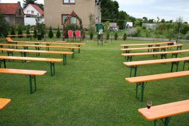 Elke Rott - Die Zeremonie - Freie Trauung im heimischen Garten