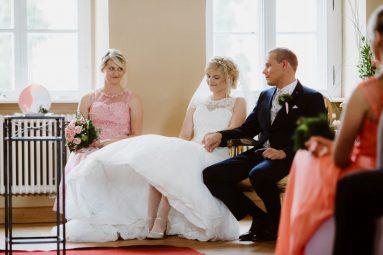 Freie Trauung Kleines Schloss Blankenburg - Elke Rott - Die Zeremonie - Foto Ben Kruse