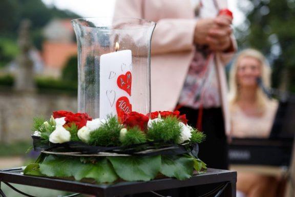 """Hochzeit Trauung Marion und Armin 123 von 244 576x384 - Marion & Armin in Blankenburg * Mit """"4 Hochzeiten"""" ins Glück"""
