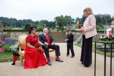 """Hochzeit Trauung Marion und Armin 161 von 244 382x255 - Marion & Armin in Blankenburg * Mit """"4 Hochzeiten"""" ins Glück"""