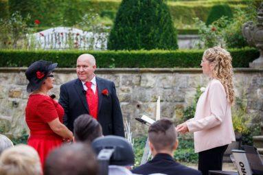 """Hochzeit Trauung Marion und Armin 186 von 244 383x255 - Marion & Armin in Blankenburg * Mit """"4 Hochzeiten"""" ins Glück"""