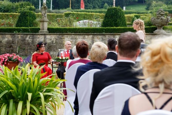 """Hochzeit Trauung Marion und Armin 56 von 244 576x384 - Marion & Armin in Blankenburg * Mit """"4 Hochzeiten"""" ins Glück"""