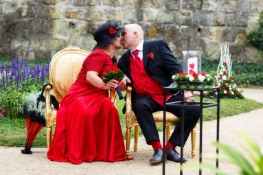 """Hochzeit Trauung Marion und Armin 64 von 244 383x255 - Marion & Armin in Blankenburg * Mit """"4 Hochzeiten"""" ins Glück"""
