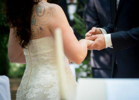 WeddingF 6309 455x329 - Kathrin und Marc im Waldhaus Osterwieck
